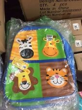 NWT Stephen Joseph Go Go Bag Back Pack Zoo 4 images Lowest Price