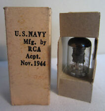 Vintage U.S. Navy & Army RCA JRC 9001 Electronic Tube In Box Dated November 1944