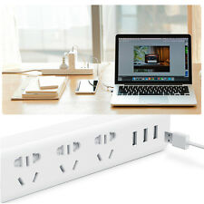 Original Xiaomi Universal Power Strip Outlet Socket With 3 USB Charger Adapter B