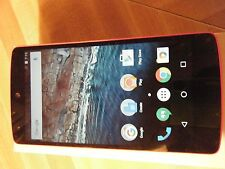 New Nexus 5 D820 Red Unlocked for any Sim with Extra