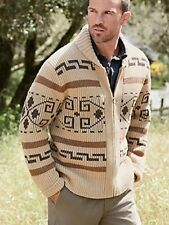 NWT PENDLETON WESTERLY THE DUDE WOOL SHAWL CARDIGAN BIG LEBOWSKI L