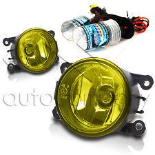 2005-2007 Ford Ranger STX Replacements Fog Lights w/HID Conversion Kit - Yellow