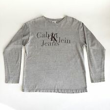 RaRe Vintage 90s cK CALVIN KLEIN Spellout Big Logo shirt S/M  Opening Ceremony