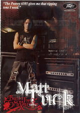 A4 MAGAZINE AD FOR PEAVEY 6505 GUITARS. Matt Tuck. Bullet For My Valentine. EX
