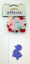 16 mixte couleurs matériel de pâques poussins embellissements pour artisanat