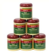 (Pack of 6) ORS Hair Mayonnaise Treatment for Damaged Hair 16 oz