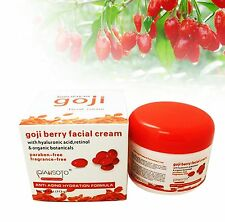 Goji Berry Facial Cream Moisturiser Hydrating Face Anti Wrinkle/Ageing 113g 4oz