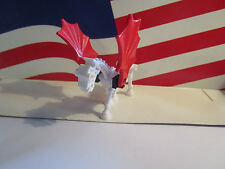 LEGO SKELETON/SKELETAL HORSE WHITE/RED WINGS HARRY POTTER/CASTLE,HALLOWEEN