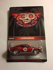 2016 Hot Wheels 30th Collectors Convention CA --- 69 Ford Mustang #4 Finale Car