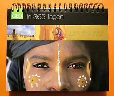 GEO in 365 Tagen um die Welt Tisch-Aufstell-Kalender Dauer Kalender Bildband OVP