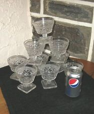 Cape cod glasses Dessert glasses  6 ounce  BUY WHAT YOU WANT!