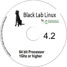 Black Lab Linux 64 bit Windows XP Live alternative includes Libre Office & more