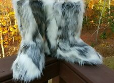Faux Suede Fur Rabbit Yeti Eskimo MUK LUKS furry fuzzy boots winter fall snow