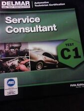 C1 Service Consultant ASE Study Guide 5th Ed via 2nd Day USPS + Disc Coupon (*)