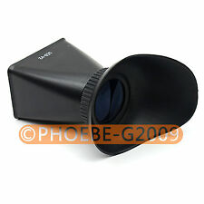 LCD-V2 2.8x Magnification LCD Viewfinder For Canon 550D 5DIII Nikon D90 SLR