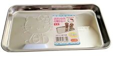 SANRIO HELLO KITTY KAWAII Practical Stainless Steel Accessory Tray AIRMAIL JAPAN