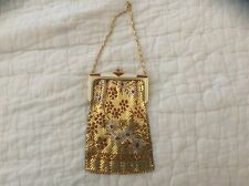vintage mesh purse Whiting and Davis