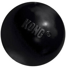 KONG - Extreme Rubber Ball Dog Toy Black Medium/Large - 1 Ball