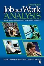 Job and Work Analysis: Methods, Research, and Applications for Human Resource Ma