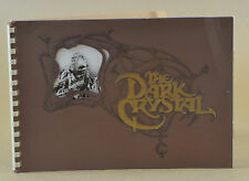 VTG JIM HENSON BRIAN FROUD DARK CRYSTAL PHOTO ALBUM PRESS RELEASE PROGRAM KIT