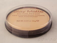 Rimmel 004 Sandstorm STAY MATTE Pressed Powder .49 oz 14 gr NEW SEALED