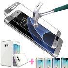 Full Cover Tempered Glass Screen Protector for Samsung Galaxy Note 7 + TPU Case