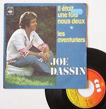 """Vinyle 45T Joe Dassin  """"Il était une fois nous deux"""""""