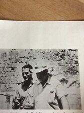 N1-5 Ephemera 1971 Picture Preminger Paul Newman Making Exodus