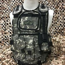 NEW Gen X Global GxG Tactical Paintball Woodsball Vest Pod Harness - ACU Camo
