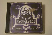 KALIPHZ - SEVEN DEADLY SINS CD 1995 (PAYDAY) DJ Muggs Wino