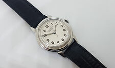 USED VINTAGE MOVADO SILVER DIAL AUTOMATIC BUMPER MAN'S WATCH