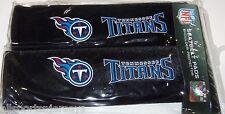 NIP NFL 2 PACK SEAT BELT PADS - TENNESSEE TITANS