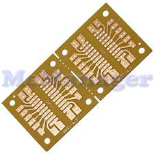 Pre Drilled Copper Prototype IC`s PCB Stripboard/ Printed Circuit Board  91x45mm