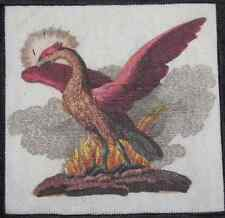PHOENIX - Febelwesen - Fable Creatures - Friedrich Bertuch -Printed Patch-Sew On