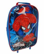 Spiderman 'Spinnennetz' PVC Vorne Schule Reisetrolley Rollen Rädern Bag