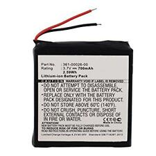 700mAh 361-00026-00 Battery Replacement for Garmin Forerunner 205, 305 GPS Watch