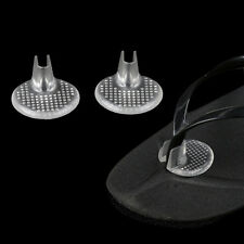 Silicone Gel High Heel Pads Flip Flop Insoles Insert Cushion Clear SK
