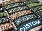 Arc Custom name Tape Text brand Morale tactics Military Embroidery Velcro Patch