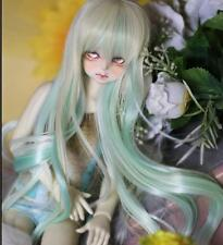 Bjd Doll Wig 1/3 8-9 Dal Pullip AOD DZ AE SD DOD LUTS Dollfie green blonde Hair