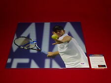 sexy tennis star ANDY RODDICK signed PSA/DNA 11X14 photo 1