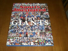 NEW YORK GIANTS SUPER BOWL XLII CHAMPIONS SPORTS ILLUSTRATED BOOK