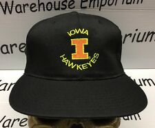 Iowa Hawkeyes Wrestling Football Vintage SnapBack Hat Cap NCAA (STARTER) NEW NWT