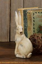 Terra Cotta SITTING BUNNY RABBIT Spring Easter Decor 8 Inches High   NEW