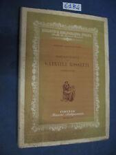 Bibliografia di Gabriele Rossetti