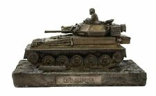 Scorpion Reconnaissance Vehicle Cold Cast Bronze Military Statue Sculpture
