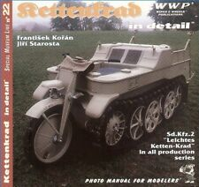 Kettenkrad in Detail, Sd.Kfz.2 in all Production Series: WWP SML 22
