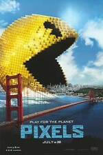 Pixels - original DS movie poster - 27x40 D/S - Pacman - Adam Sandler