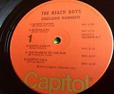 THE BEACH BOYS Endless Summer 2 LP 1974 Capitol R 223559 Orange Labels RARE! OOP
