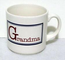 FPC COFFEE MUG ceramic GRANDMA with a capital G England