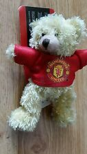 Manchester United Teddy Bear Bag Buddy Keyring Football Gift stocking filler